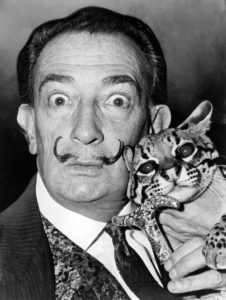 Salvador_Dali_©Roger Higgins NYWTS Library of Congress -PubDom